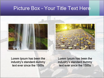 Road To Lighthouse PowerPoint Template - Slide 18