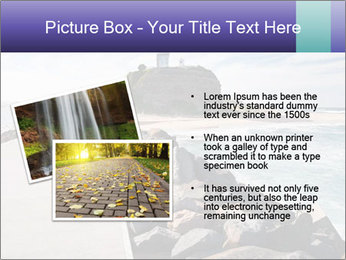 Road To Lighthouse PowerPoint Template - Slide 20