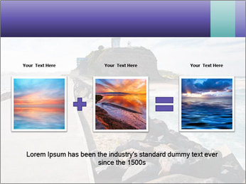 Road To Lighthouse PowerPoint Template - Slide 22