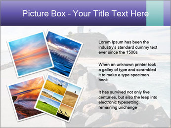 Road To Lighthouse PowerPoint Template - Slide 23
