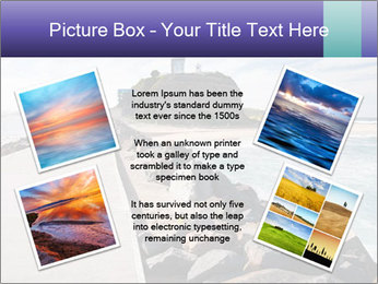 Road To Lighthouse PowerPoint Template - Slide 24
