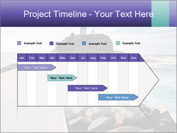Road To Lighthouse PowerPoint Template - Slide 25