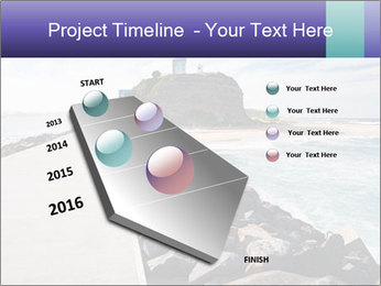Road To Lighthouse PowerPoint Template - Slide 26