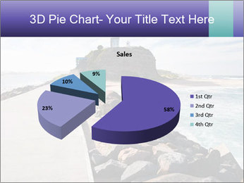 Road To Lighthouse PowerPoint Template - Slide 35