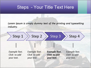 Road To Lighthouse PowerPoint Template - Slide 4