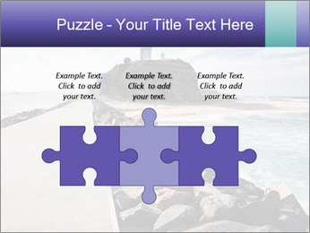 Road To Lighthouse PowerPoint Template - Slide 42