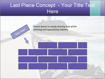 Road To Lighthouse PowerPoint Template - Slide 46