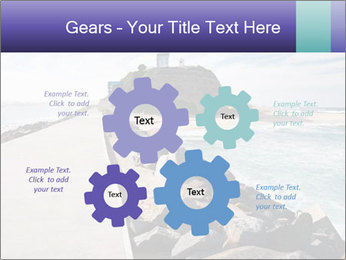 Road To Lighthouse PowerPoint Template - Slide 47