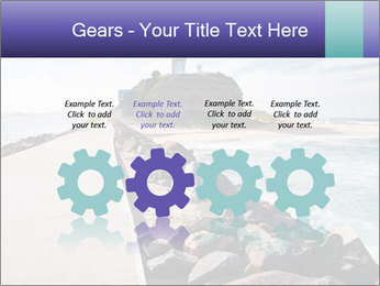 Road To Lighthouse PowerPoint Template - Slide 48