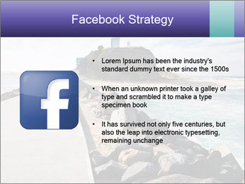 Road To Lighthouse PowerPoint Template - Slide 6