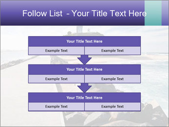 Road To Lighthouse PowerPoint Template - Slide 60