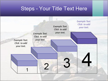 Road To Lighthouse PowerPoint Template - Slide 64