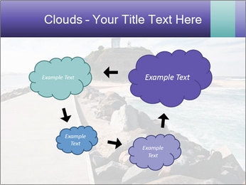 Road To Lighthouse PowerPoint Template - Slide 72