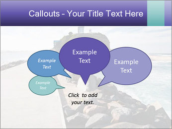 Road To Lighthouse PowerPoint Template - Slide 73