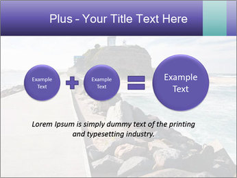 Road To Lighthouse PowerPoint Template - Slide 75
