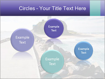 Road To Lighthouse PowerPoint Template - Slide 77