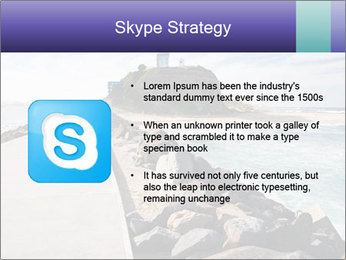 Road To Lighthouse PowerPoint Template - Slide 8