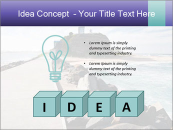 Road To Lighthouse PowerPoint Template - Slide 80