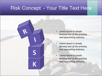 Road To Lighthouse PowerPoint Template - Slide 81