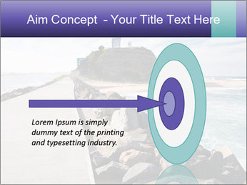 Road To Lighthouse PowerPoint Template - Slide 83