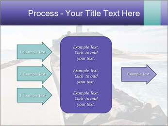 Road To Lighthouse PowerPoint Template - Slide 85