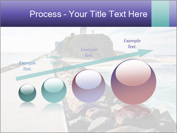 Road To Lighthouse PowerPoint Template - Slide 87