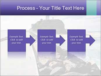 Road To Lighthouse PowerPoint Template - Slide 88