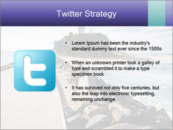 Road To Lighthouse PowerPoint Template - Slide 9