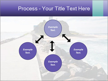 Road To Lighthouse PowerPoint Template - Slide 91
