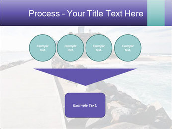 Road To Lighthouse PowerPoint Template - Slide 93