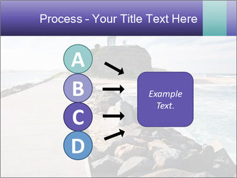 Road To Lighthouse PowerPoint Template - Slide 94