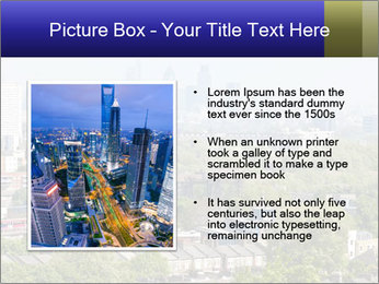 Green City Panorama PowerPoint Template - Slide 13