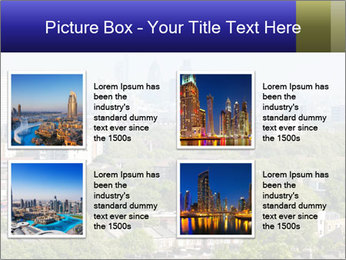 Green City Panorama PowerPoint Template - Slide 14