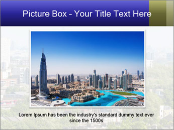 Green City Panorama PowerPoint Template - Slide 15
