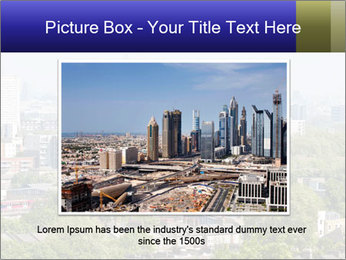 Green City Panorama PowerPoint Template - Slide 16