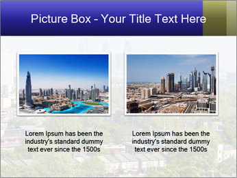 Green City Panorama PowerPoint Template - Slide 18