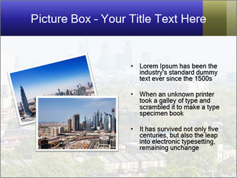 Green City Panorama PowerPoint Template - Slide 20
