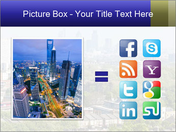 Green City Panorama PowerPoint Template - Slide 21