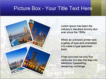 Green City Panorama PowerPoint Template - Slide 23