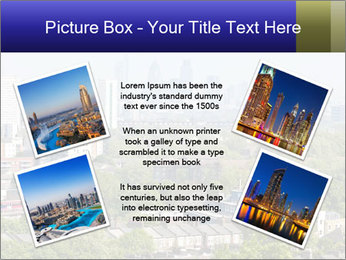 Green City Panorama PowerPoint Template - Slide 24