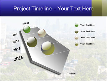 Green City Panorama PowerPoint Template - Slide 26