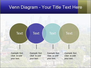 Green City Panorama PowerPoint Template - Slide 32