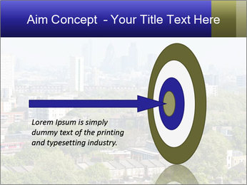 Green City Panorama PowerPoint Template - Slide 83