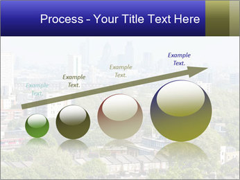 Green City Panorama PowerPoint Template - Slide 87