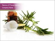 Rosemary Essential Oil PowerPoint Templates