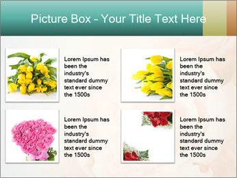 Cream Roses PowerPoint Template - Slide 14