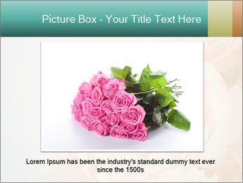 Cream Roses PowerPoint Template - Slide 15