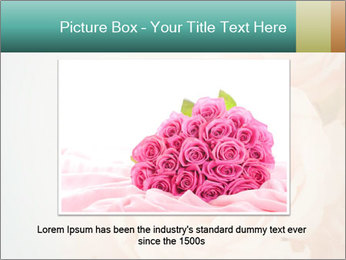 Cream Roses PowerPoint Template - Slide 16