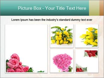 Cream Roses PowerPoint Template - Slide 19