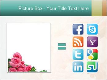 Cream Roses PowerPoint Template - Slide 21